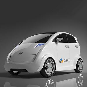 比亚迪电动微型车造型设计