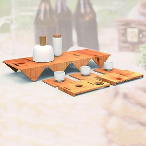 方合子 便携餐具