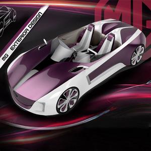MG和雅女性跑车设计