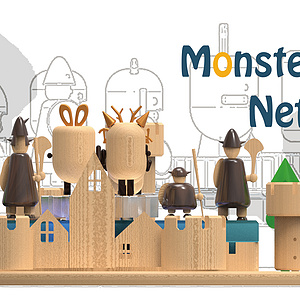 monster attack network