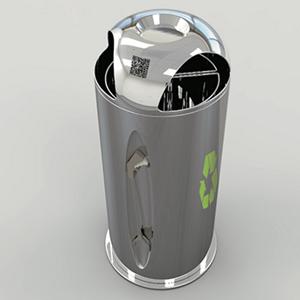 交互垃圾桶