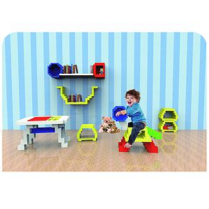 儿童可游戏性家具设计——马赛克主题