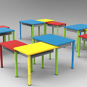 幼儿园变形桌