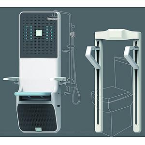 老年人卫浴辅助产品设计