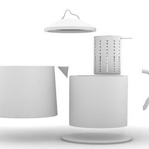 饮山水·茶壶设计
