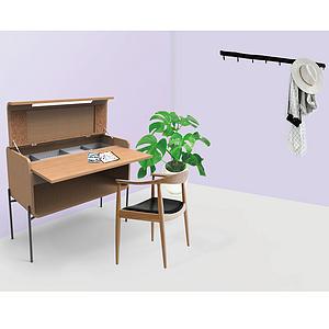 小空间多用家具