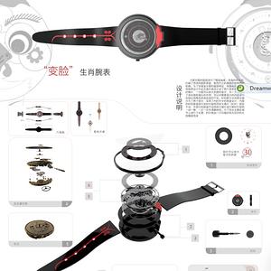 生肖主体系列(酉)腕表设计