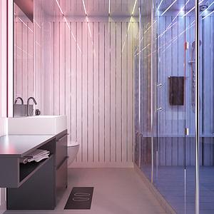 集成卫浴设计