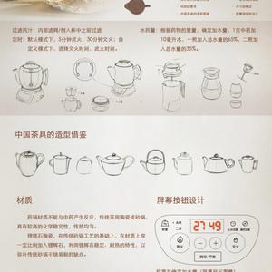 家用自煎药锅设计