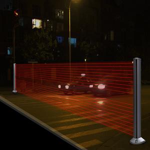 光线墙——十字路口,交通协助装置设计