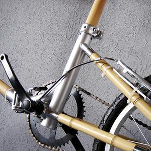 竹节自行车