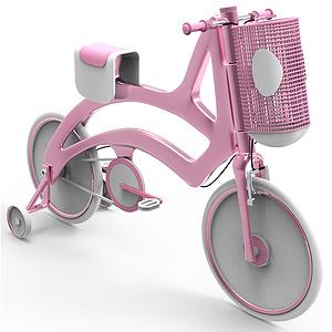 """""""乐在骑中""""儿童自行车设计"""