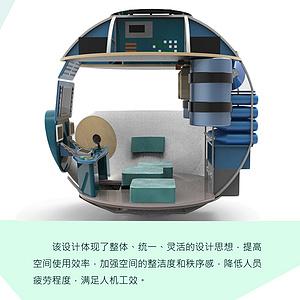 载人潜水器工作舱布局设计