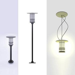 草坪灯、高杆灯、吸顶灯系列