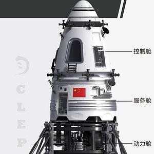 基于月球空间站的载人登月概念设计