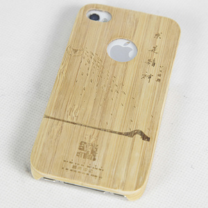 竹质手机壳