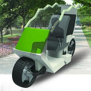社区用环卫车设计