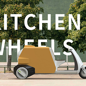 kitchen on wheel   一体式餐车