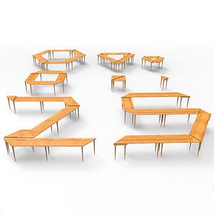 基于公共空间的桌子设计