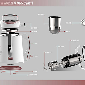 家用全自动豆浆机改良设计