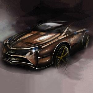 烈焰汽车设计