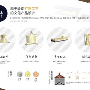铜承今作——基于岭南打铜工艺的文化产品设计