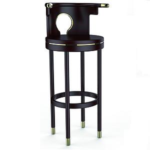 孤亭 吧台椅 明式家具设计