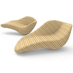 斑卜竹编椅的创新设计