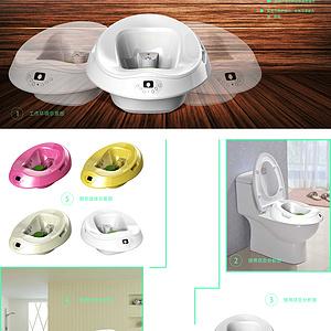 一种盆体可分离式坐浴器