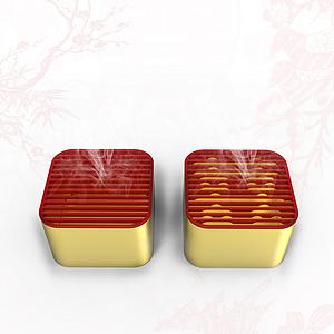 同喜 香薰盒 婚庆文化用品系列设计