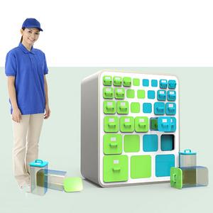 生鲜物流冰箱