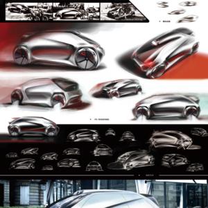 公路旅行者——TELSA2025概念电动骑车设计