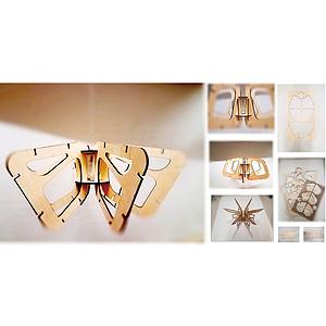 拼接形式灯具设计