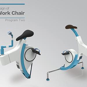 空间站工作椅设计