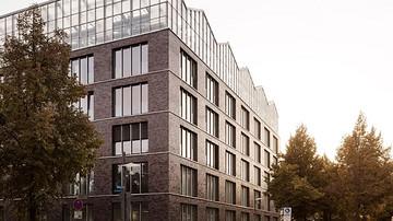屋顶花园+垂直花园,德国温室行政楼 / Kuehn Malvezzi